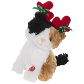 Singing & Dancing Festive Kitten Plush