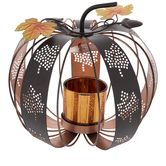 Pumpkin Metal Candle Holder