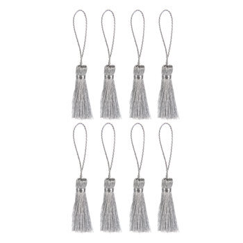 Silver Tassel Embellishments