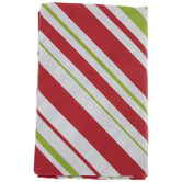 Candy Cane Striped Tablecloth