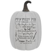Pumpkin Pie Recipe Pumpkin