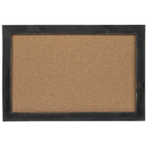 Distressed Black Corkboard