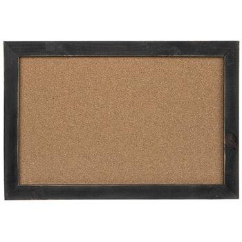 Distressed Black Corkboard