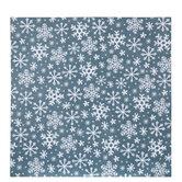 "Doodle Snowflake Scrapbook Paper - 12"" x 12"""