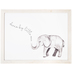 Dream Big Elephant Wood Wall Decor