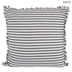 Navy & Cream Ticking Striped Pillow