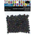 Black Round Cross Beads