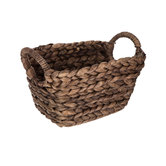 Brown Washed Rectangle Basket