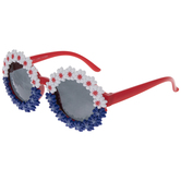 4th Of July Flowers Kids Sunglasses