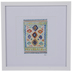 Multi-Color Rug Framed Wall Decor