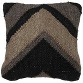 Black & Brown Chevron Pillow Cover