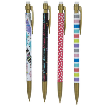 Colorful Llamas Mechanical Pencils - 4 Piece Set