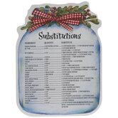 Substitutions Jar Magnet