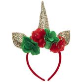 Yuletide Unicorn Headband