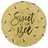 Sweet As Can Bee Paper Plates