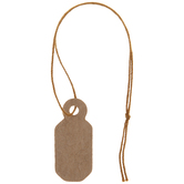 Kraft Brown Jewelry Tags