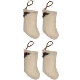 Holly Stocking Embellishments