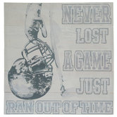 Never Lost A Game Wood Wall Decor