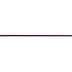 Burgundy Woven Ribbon - 1/8