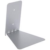 Silver Conceal Metal Wall Shelf