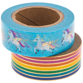 Unicorn Rainbow Washi Tape