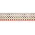 Fall Polka Dot Wired Edge Burlap Ribbon - 2 1/2