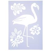 Flamingo Stencil