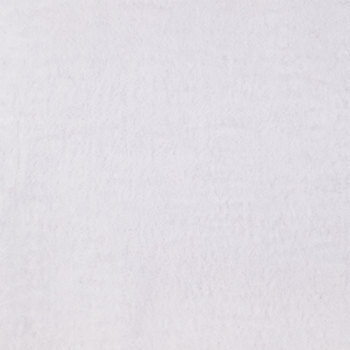 White Plush Felt Fabric