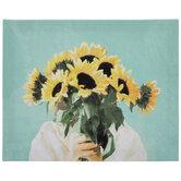 Sunflower Bouquet Canvas Wall Decor
