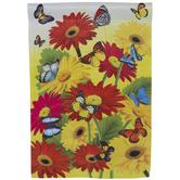 Flowers & Butterflies Garden Flag