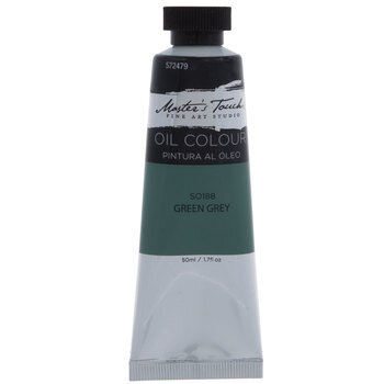 Green Gray Master's Touch Oil Paint - 1.7 Ounce