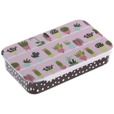 Cactus Tin Needle Box