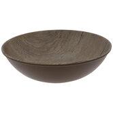 Wood Look Serving Bowl