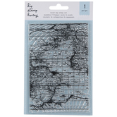 World Map Clear Stamp