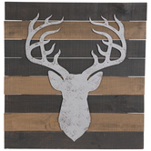 Deer Head Pallet Wood Wall Decor