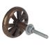 Wagon Wheel Knob