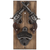 Double Revolvers Bottle Opener