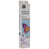 Pink Butterfly Paint By Number Kit