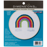 Rainbow Embroidery Kit