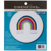 Rainbow Embroidery Kit