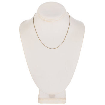 """Small Ladder Chain Necklace - 16"""""""