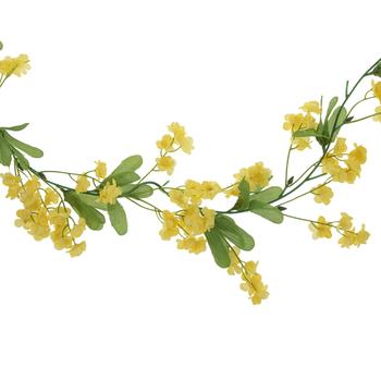 Yellow Double Ruffle Garland