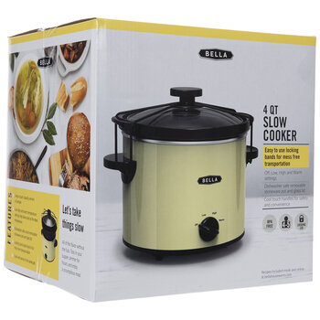 Yellow Slow Cooker