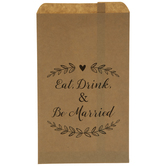 Eat, Drink & Be Married Treat Sacks