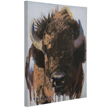 Wild Bison Canvas Wall Decor