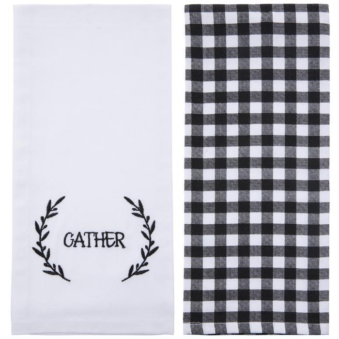 Gather Buffalo Check Kitchen Towels Hobby Lobby 5524236