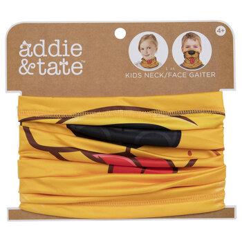 Kids Yellow Dog Gaiter Face Mask