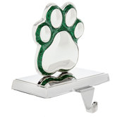 Paw Print Metal Stocking Holder