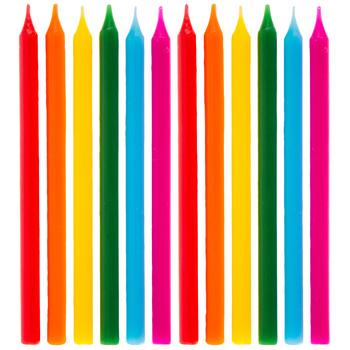 Long Birthday Candles