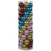 Multi-Color Shiny Ball Ornaments